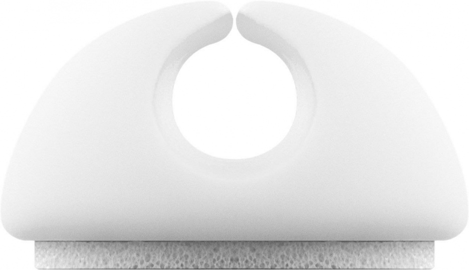 Imagine Set 5 bucati organizatoare cabluri albe, Goobay 70681-6
