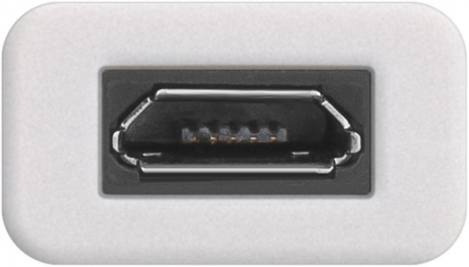 Imagine Adaptor USB-C la micro USB-B T-M Alb, Goobay 71398-2