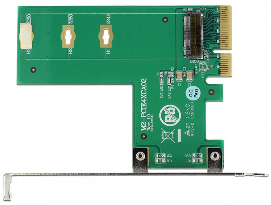 Imagine PCI Express la 1 x NVMe M.2 Key M cross format, Delock 89561
