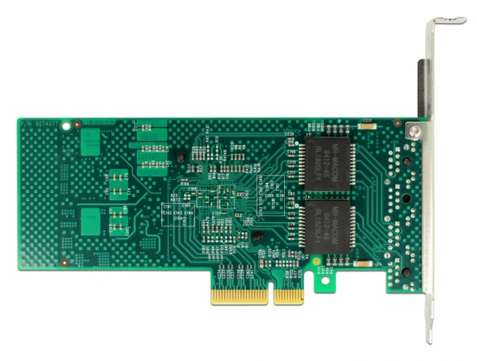 Imagine PCI Express la 4 x Gigabit LAN chipset Intel i350, Delock 89946-4