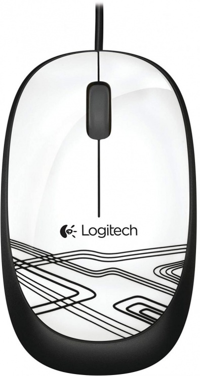 Imagine Mouse USB M105 Alb/Negru, Logitech