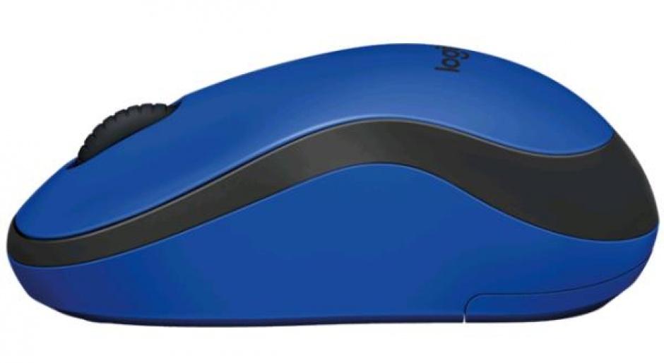 Imagine Mouse wireless silentios Bleu, Logitech M220