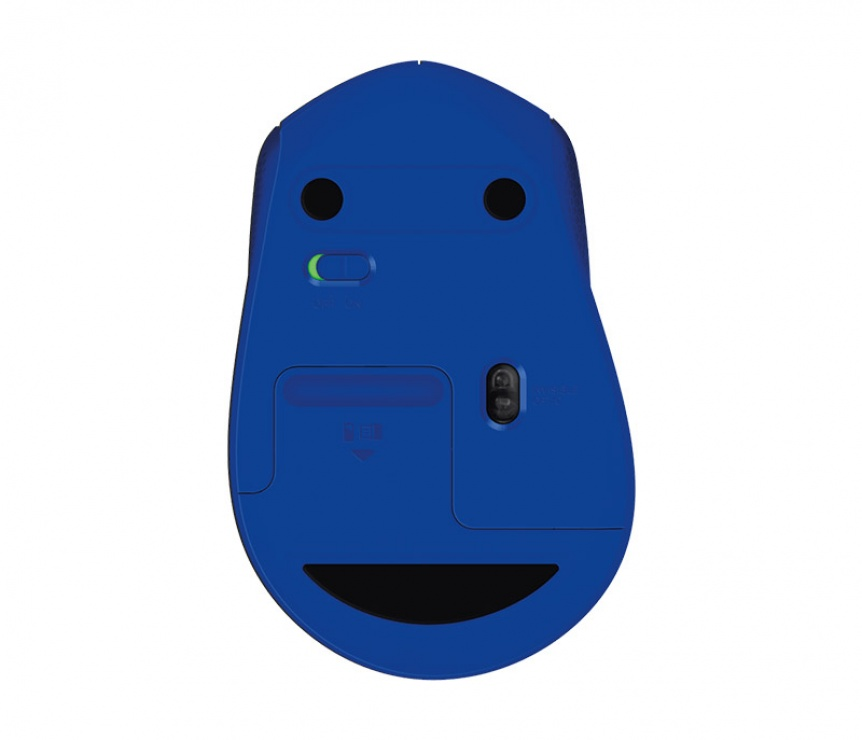 Imagine Mouse wireless Blue M330 Silent, Logitech-4