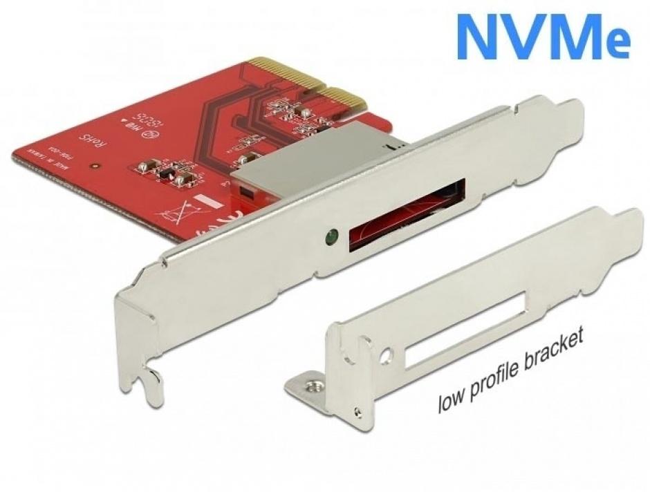 Imagine PCI Express la 1 slot CFexpress NVME, Delock 91748