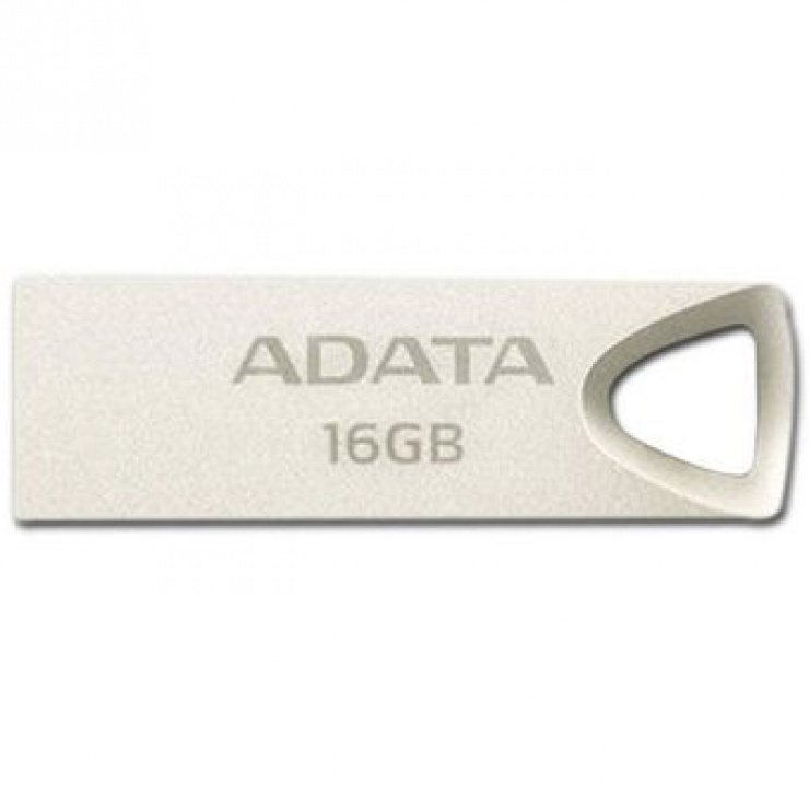 Imagine Stick USB 2.0 16GB aliaj zinc, rezistent la apa/praf/socuri Gold, A-DATA