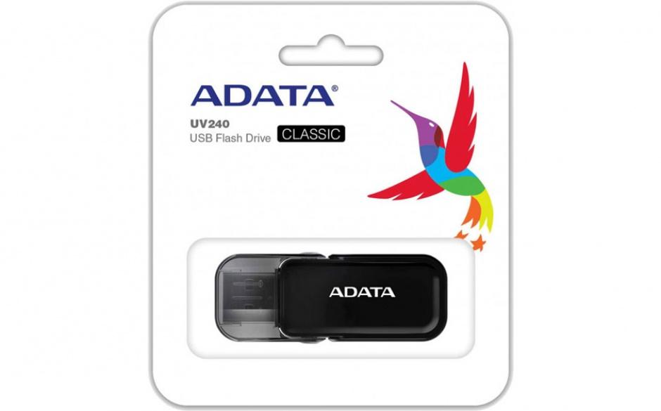 Imagine Stick USB 2.0 32GB ADATA UV240 Black-2