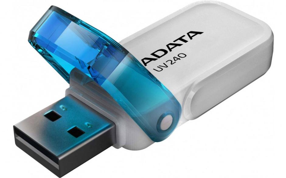 Imagine Stick USB 2.0 16GB ADATA UV240 White-1