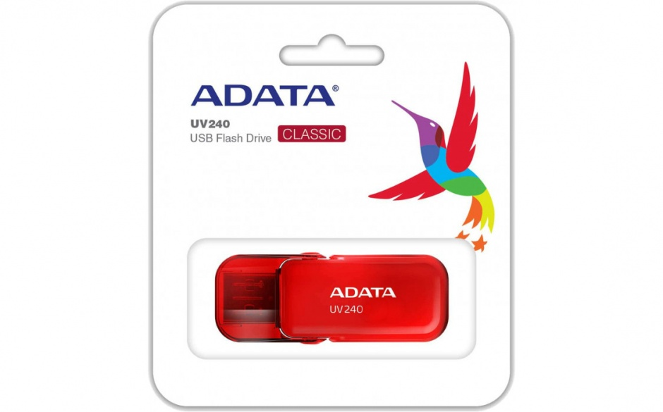 Imagine Stick USB 2.0 32GB ADATA UV240 Rosu-2