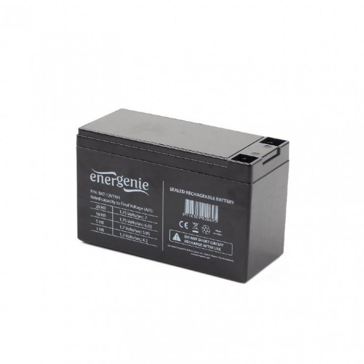 Imagine Baterie 12V 7A pentru UPS, Gembird BAT-12V7AH