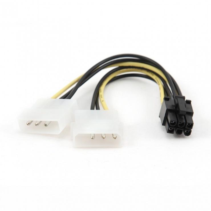 Imagine Cablu alimentare placa video PCI Express 6 pini, Gembird CC-PSU-6