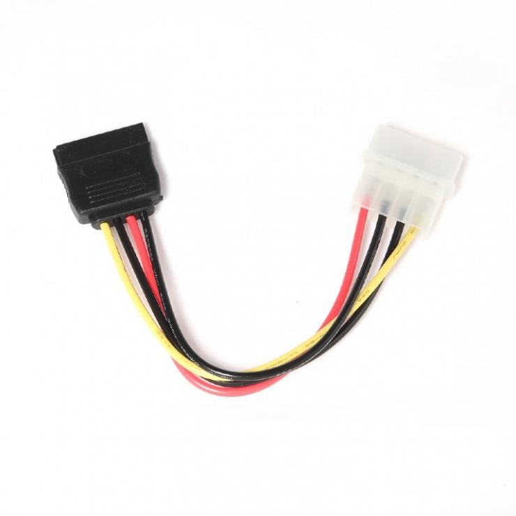 Imagine Cablu alimentare Molex la SATA T-M, Gembird CC-SATA-PS-1