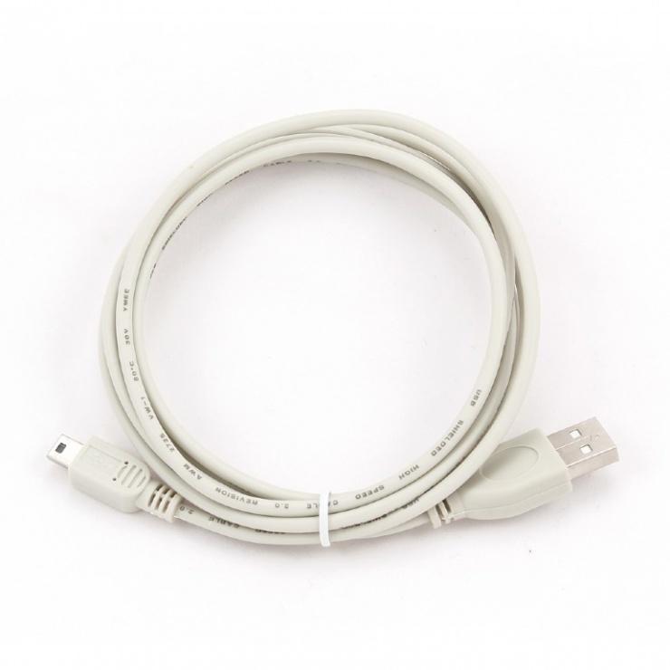 Imagine Cablu USB 2.0 la mini USB 5 pini 1.8m, CC-USB2-AM5P-6-2
