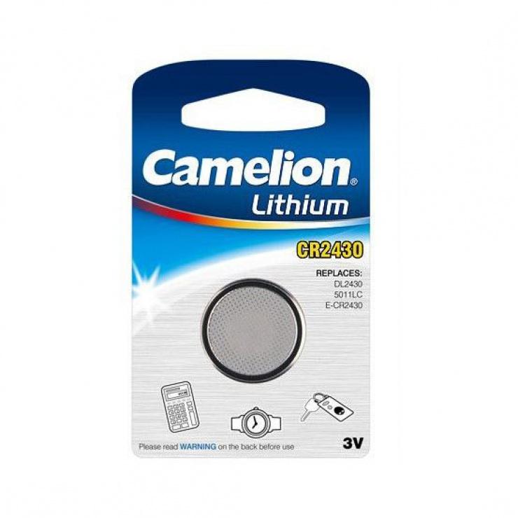 Imagine Baterie Camelion 3V CR2430