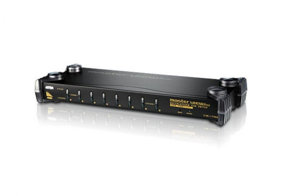 Imagine Distribuitor KVM PS/2-USB VGA/Audio 8 porturi, ATEN CS1758