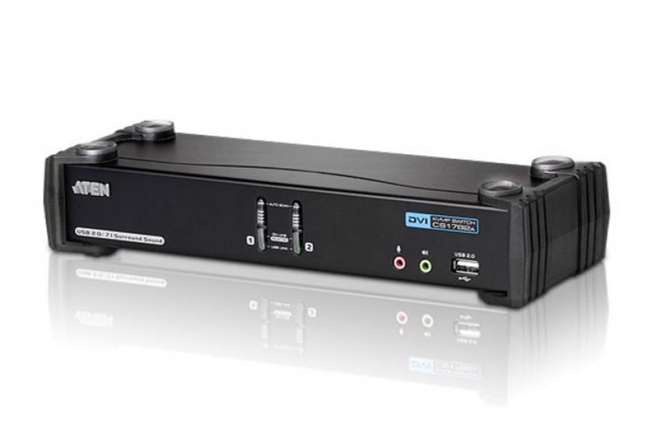 Imagine Distribuitor KVMP USB DVI Dual Link 2 porturi, ATEN CS1782A