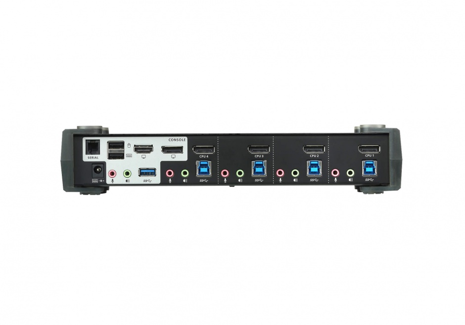 Imagine KVM Switch DisplayPort MST 4 porturi USB 3.0 4K, ATEN CS1924M