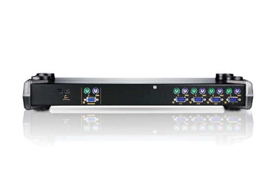 Imagine Distribuitor KVM PS/2 VGA 4 porturi, Aten CS9134-1