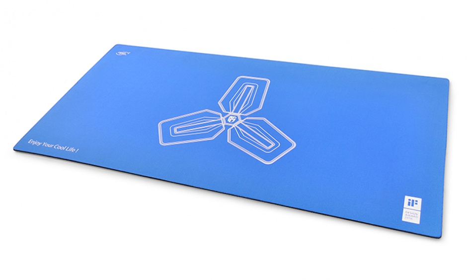 Imagine Mousepad gaming 800x400mm blue, DEEPCOOL D-PAD