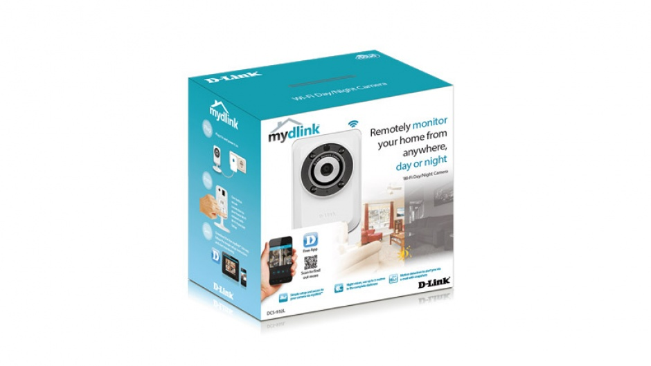 Imagine Camera wireless IP de interior Day and Night, D-LINK DCS-932L-4
