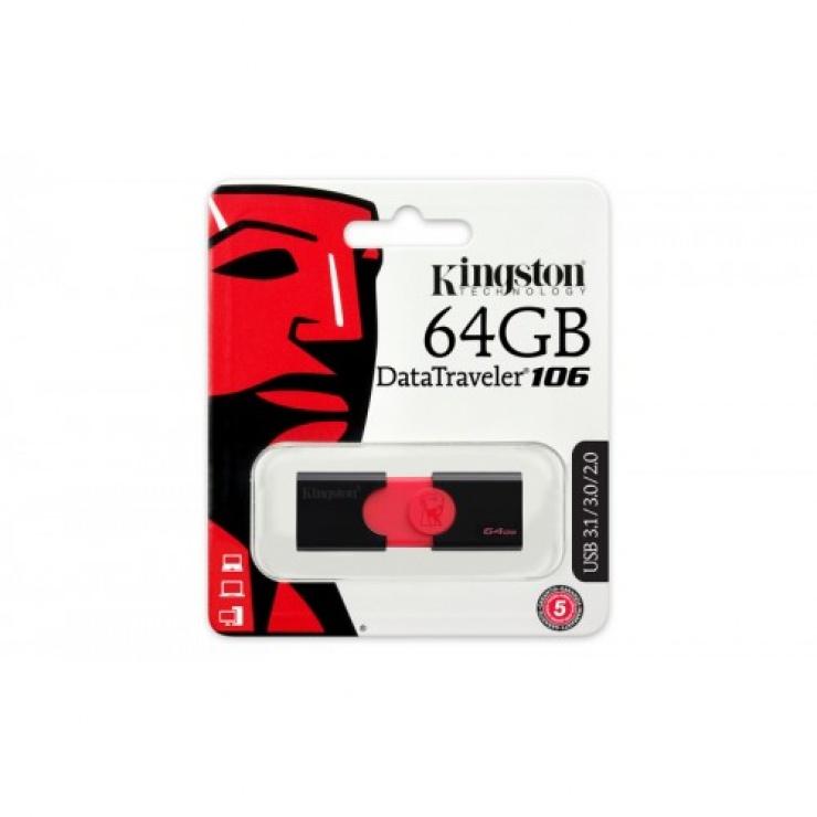 Imagine Stick USB 3.1 64GB KINGSTON Data Traveler DT106-1