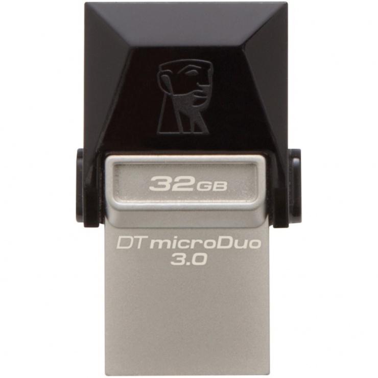 Imagine Stick USB 3.0 32GB KINGSTON DATA TRAVELER MicroDuo OTG, DTDUO3/32GB