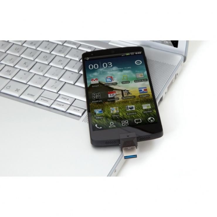Imagine Stick USB 3.0 32GB KINGSTON DATA TRAVELER MicroDuo OTG, DTDUO3/32GB-3