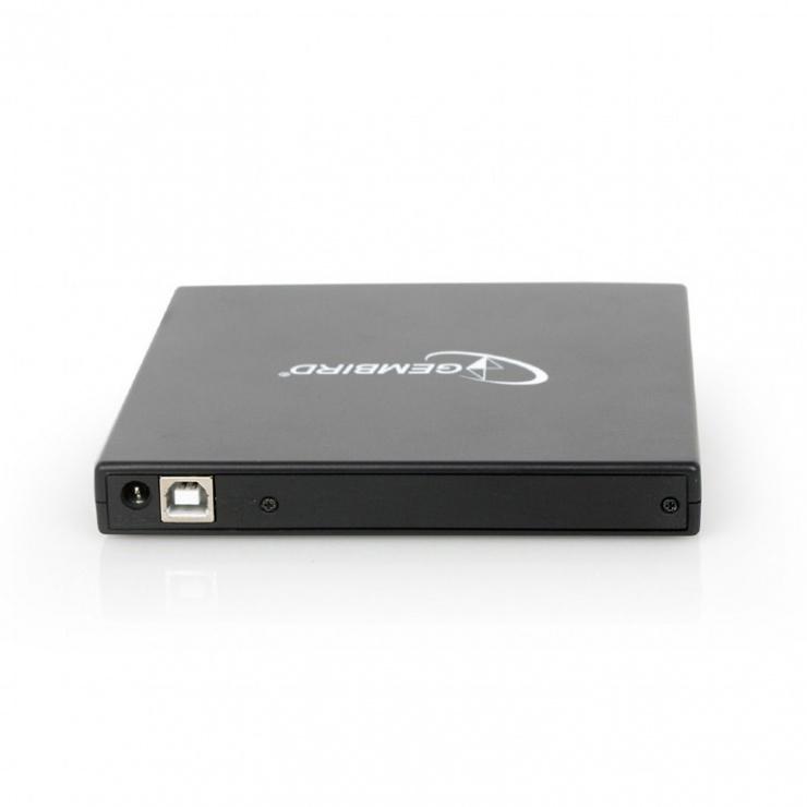 Imagine Unitate optica externa DVDRW, Gembird DVD-USB-02-3