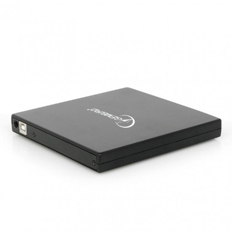 Imagine Unitate optica externa DVDRW, Gembird DVD-USB-02-4