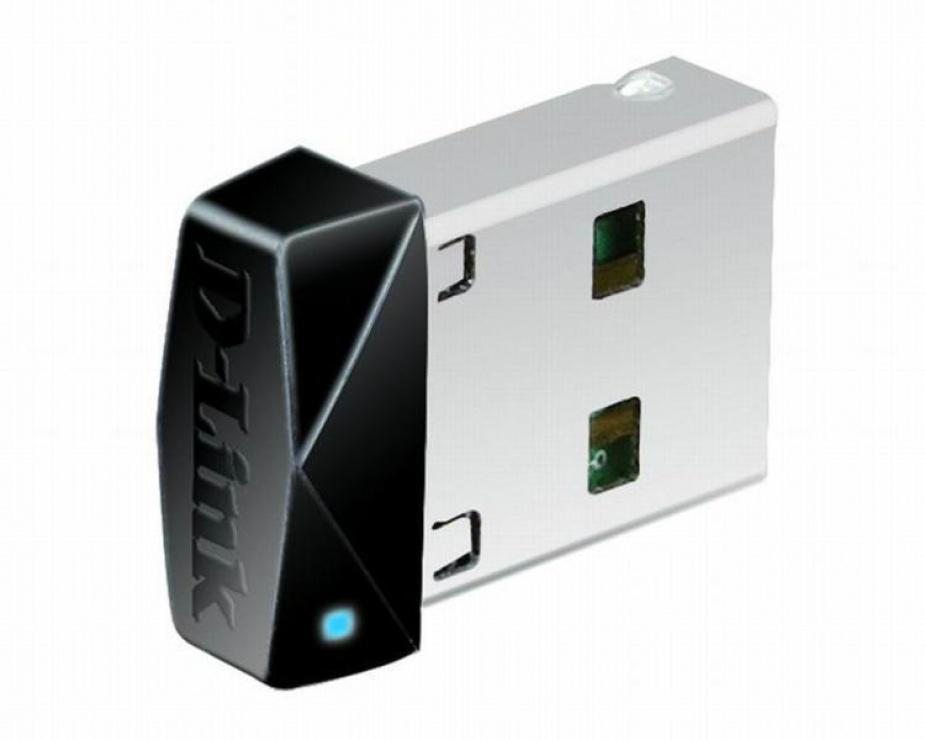 Imagine Adaptor wireless USB N150 micro, D-LINK DWA-121