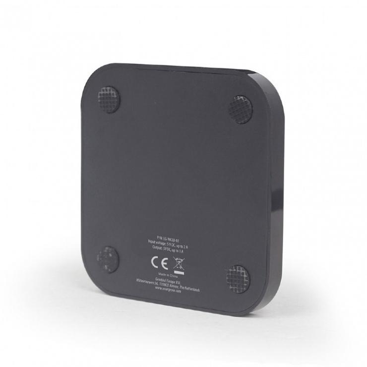 Imagine Incarcator wireless QI 5W, Gembird EG-WCQI-02-4