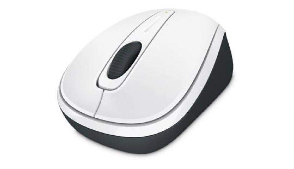 Imagine Mouse wireless Mobile 3500 Alb, Microsoft