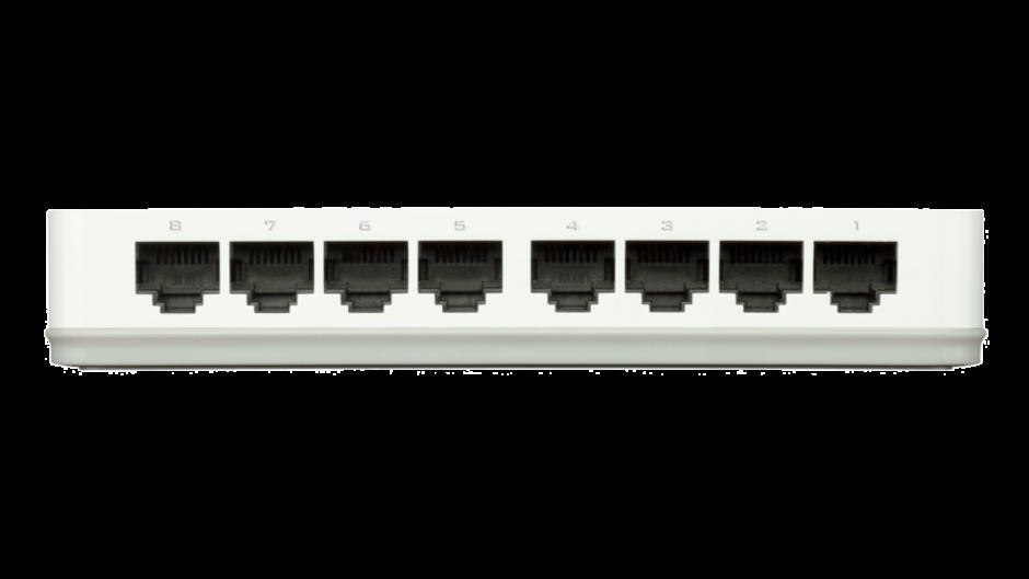 Imagine Switch 8 porturi 10/100 Mb/s, D-LINK GO-SW-8E