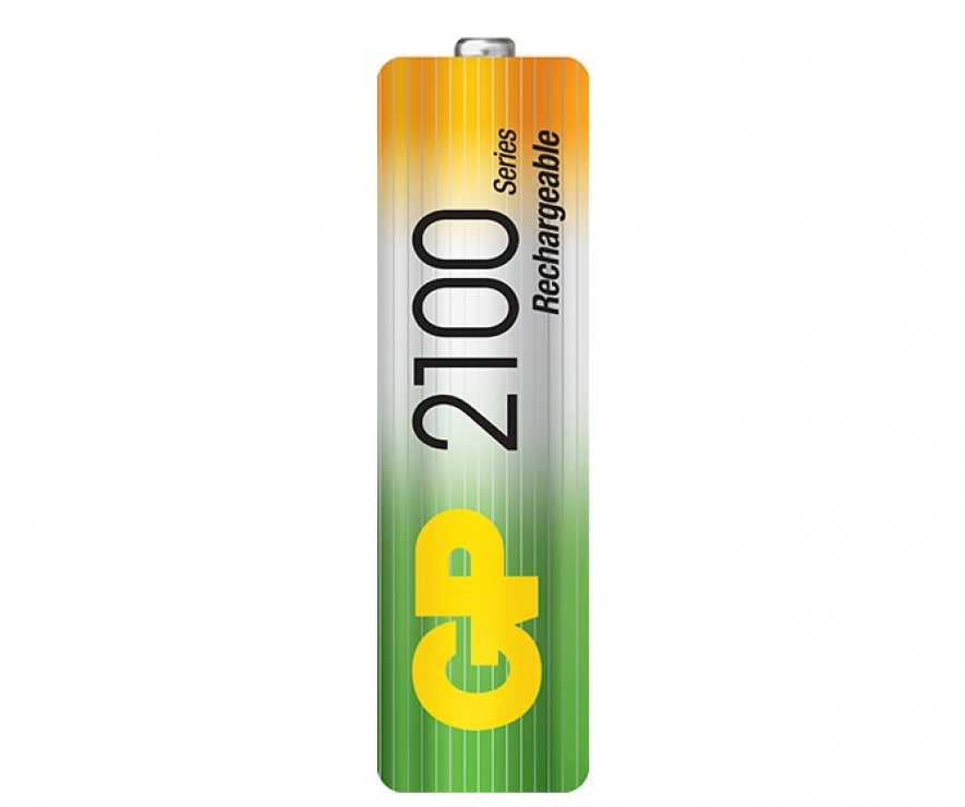 Imagine Acumulatori AA (R6) 2100mAh 4 buc, GP Batteries