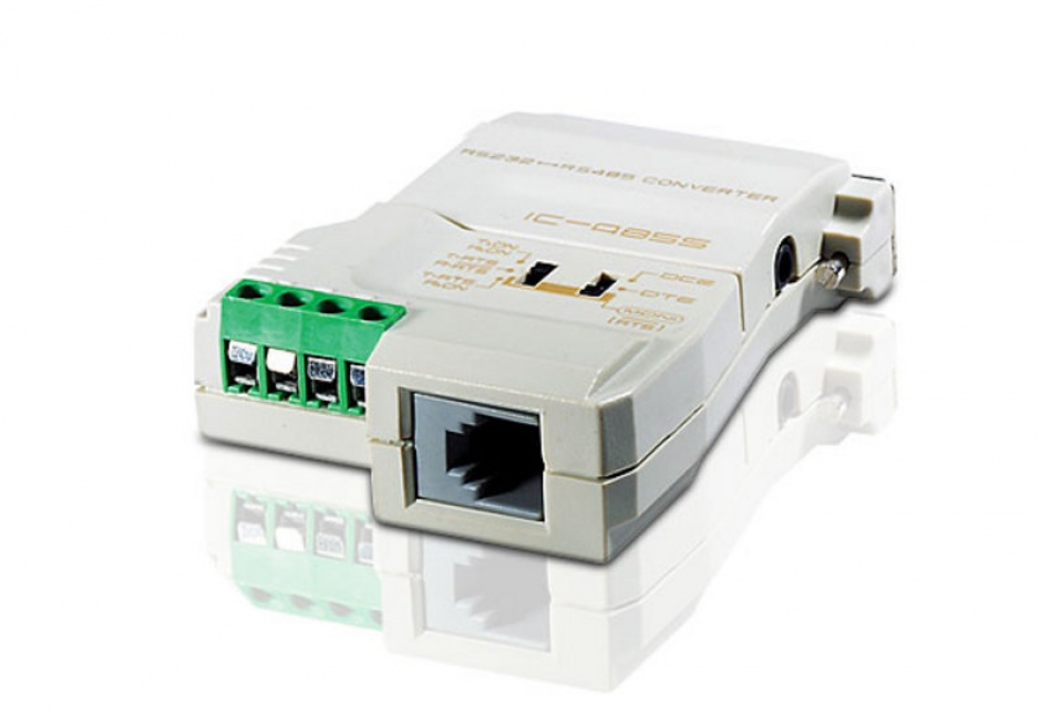 Imagine Convertor RS232 la RS485/RS422 bidirectional cu alimentare, ATEN IC-485S