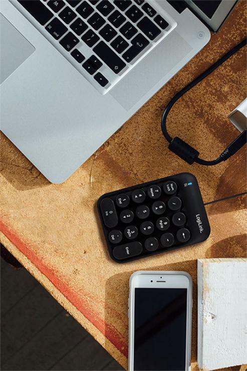 Imagine Tastatura numerica USB, Logilink ID0174-3
