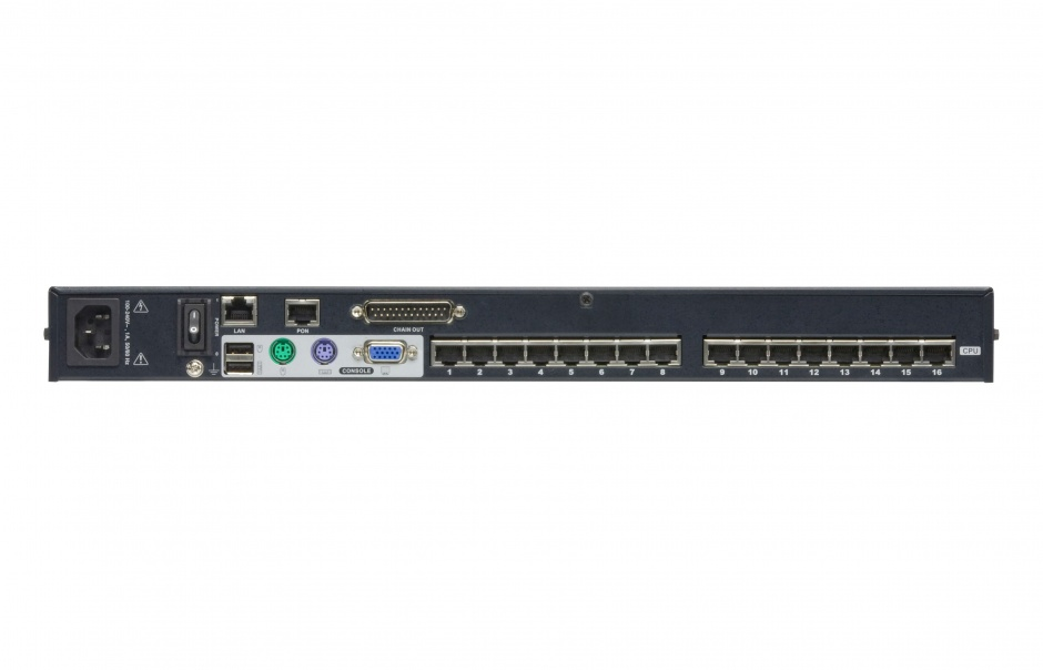 Imagine Switch KVM over IP Cat 5 16 porturi, Altusen KH1516Ai