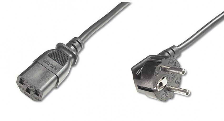 Imagine Cablu de alimentare PC C13 2m negru