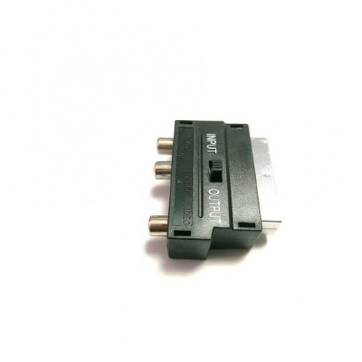 Imagine Adaptor Scart la 3 x RCA + S-video, KTCBLHE12020-1