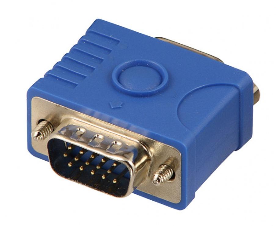 Imagine Adaptor VGA pentru monitor EDID/DDC, Lindy L32101