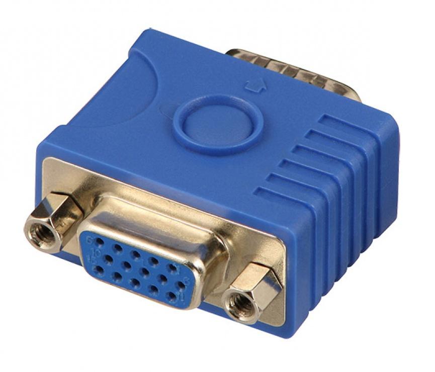 Imagine Adaptor VGA pentru monitor EDID/DDC, Lindy L32101-1