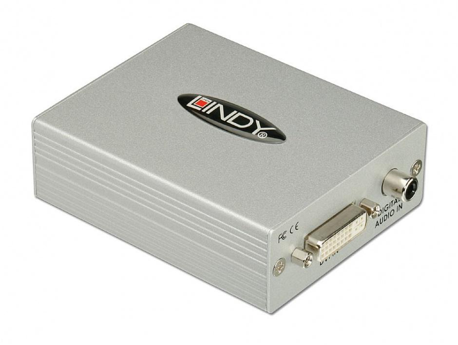 Imagine Convertor DVI-D & SPDIF la HDMI, Lindy L32559