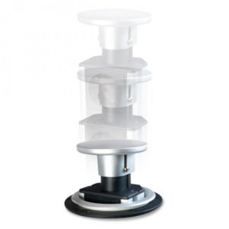 Imagine Prelungitor priza montare masa cu 3 prize 1.8m, Logilink LPS235-4