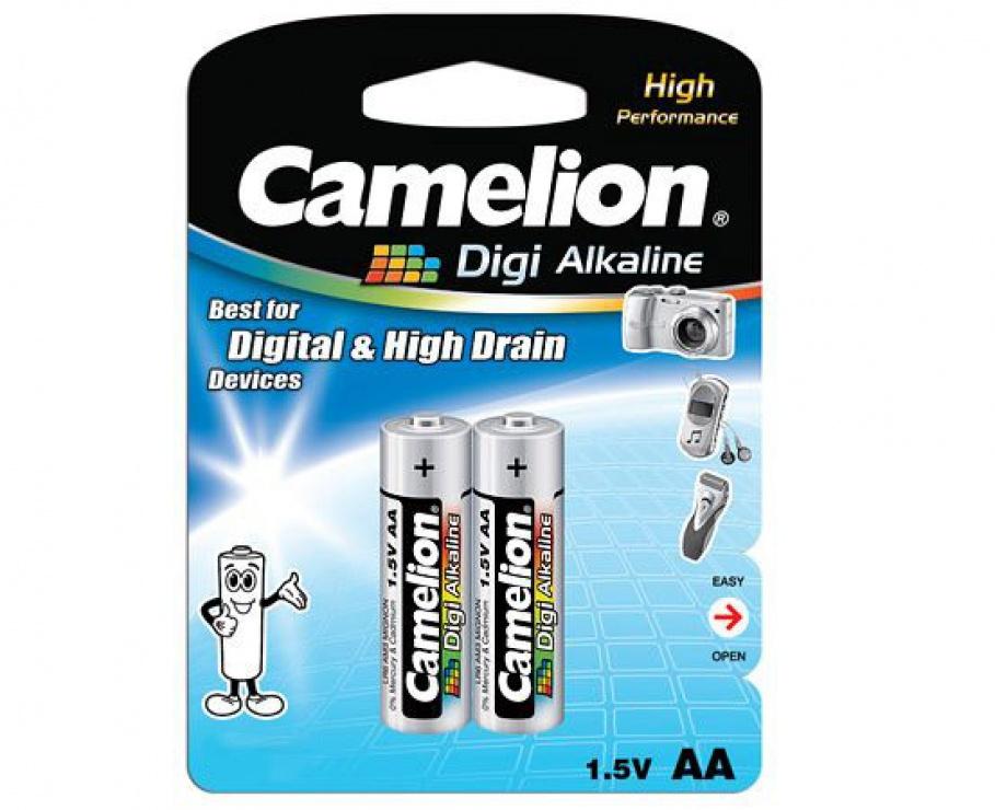 Imagine Blister 2 baterii alcalina Camelion DIGI AA LR6