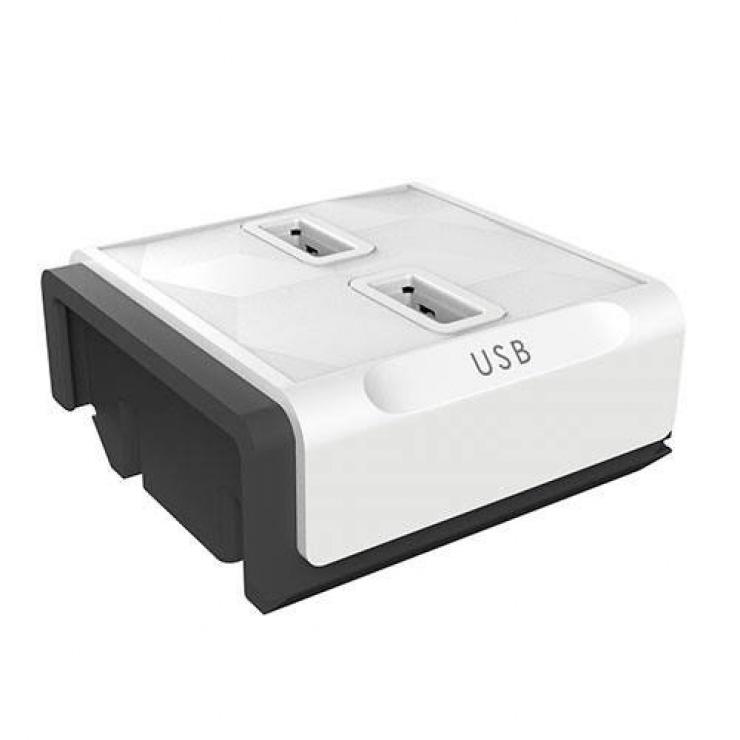 Imagine Modul 2 x USB pentru prelungitoarele modulare, Allocacoc