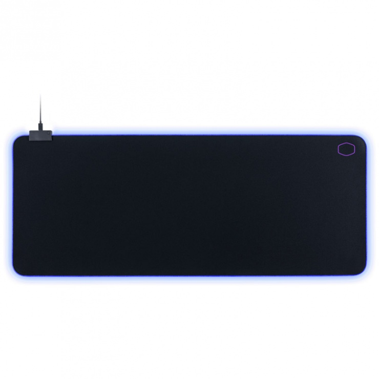 Imagine Mouse pad Gaming RGB 470 x 350 Negru & Mov, Cooler Master MPA-MP750-L -4