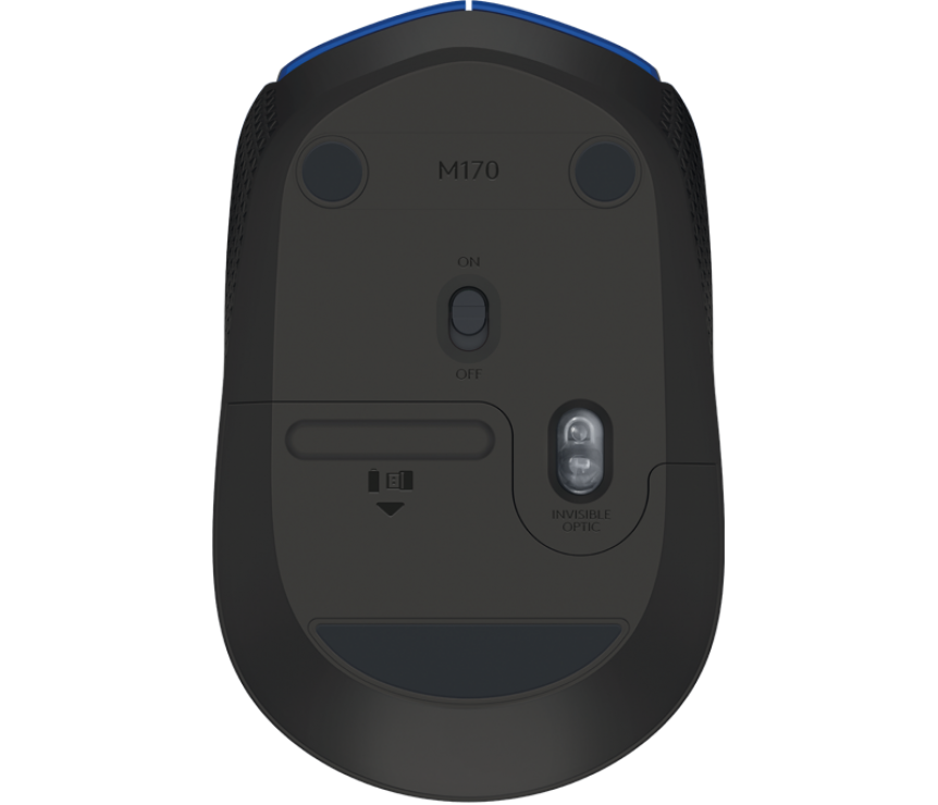 Imagine Mouse Logitech M171 Wireless Blue-2