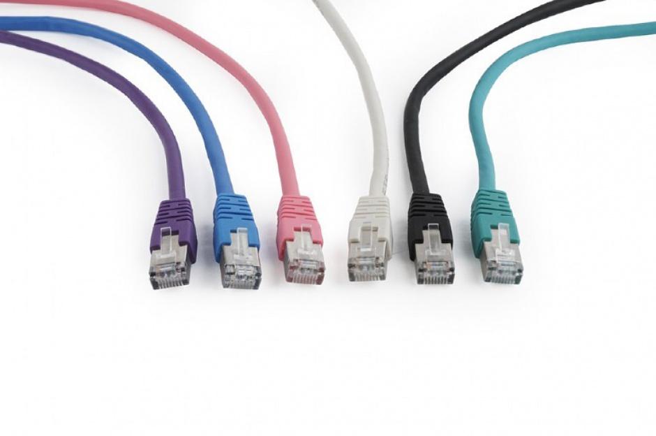 Imagine Cablu de retea RJ45 FTP cat6 20m Gri, Gembird PP6-20M-1