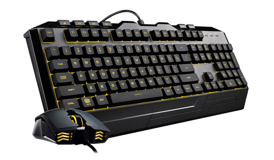 Imagine Kit tastatura si mouse USB COOLER MASTER Devastator 3 RGB LED-15