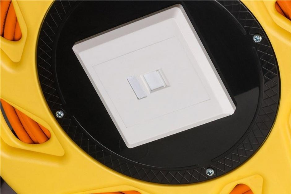 Imagine Rola cablu de retea prelungitor cat 7A SFTP LSOH 50m, Goobay 58934-2
