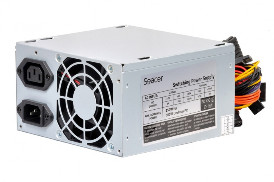 Imagine Sursa Spacer 500W, SPS-ATX-500
